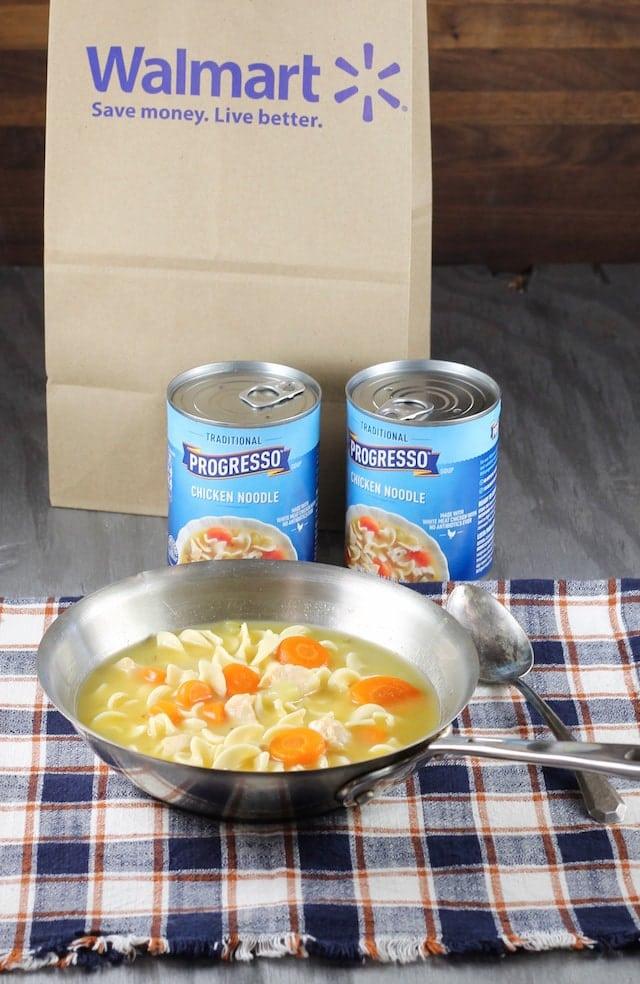 Progresso Chicken Noodle Soup ~ MissintheKitchen.com