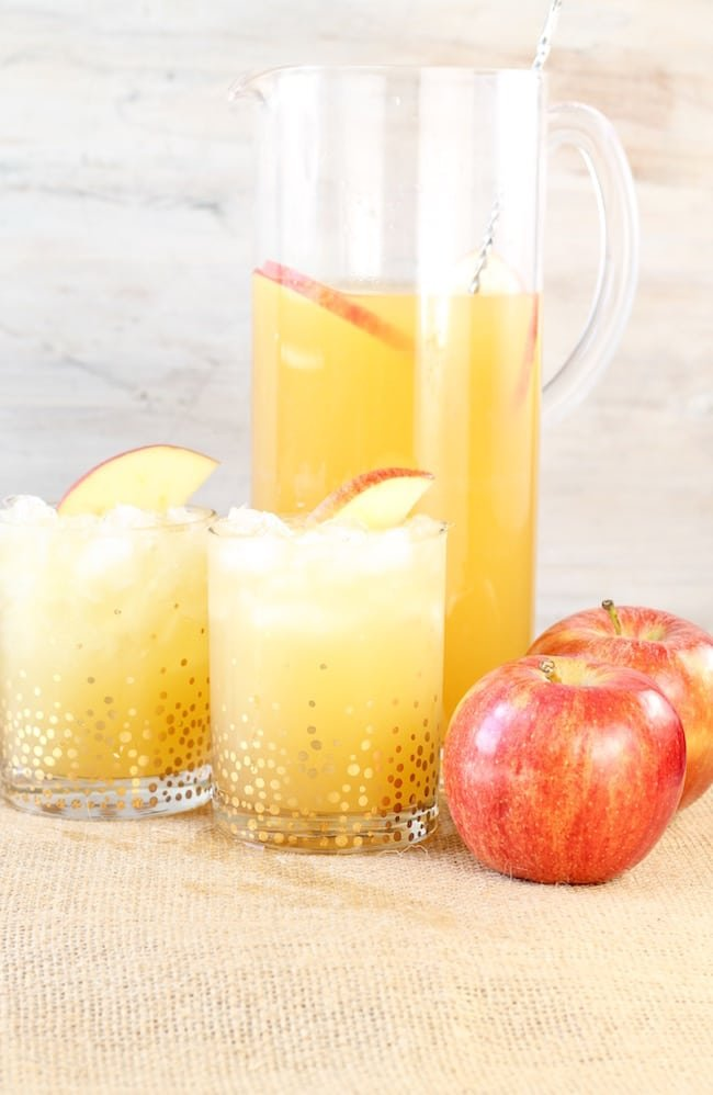 Pitcher of Fall Party Punch