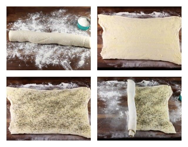 Quick Butter & Herb Rolls Recipe from Missinthekitchen.com