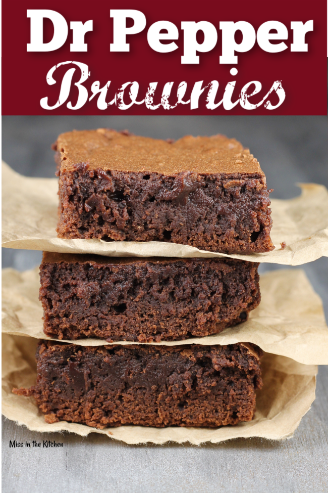 How to Make Dr Pepper Brownies