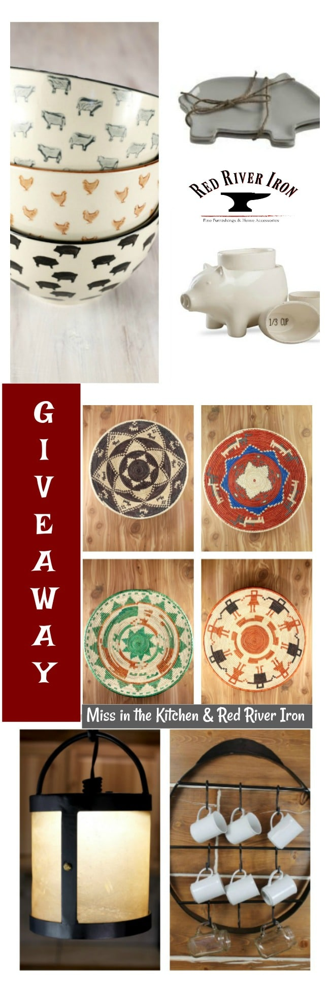 Giveaway for $100 Gift Card to RedRiverIron.com from missinthekitchen.com #sweepstakes #giveaway #christmas