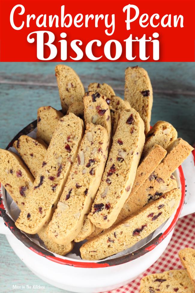 Cranberry Pecan Biscotti