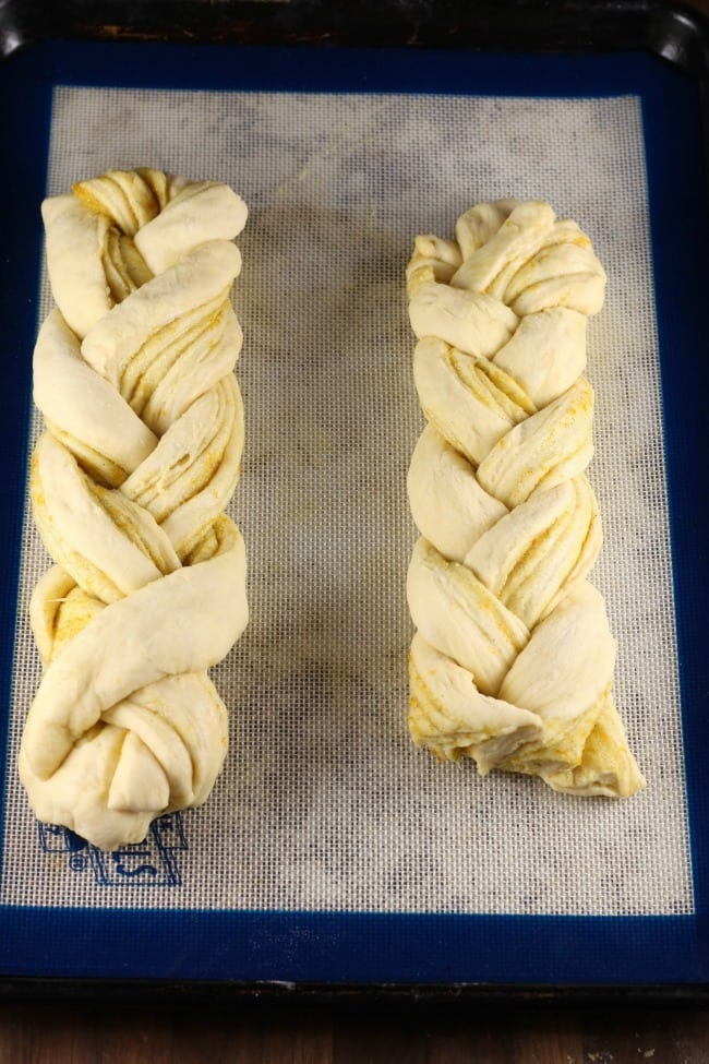 Orange Caradamom Braids ~ MissintheKitchen.com #ad