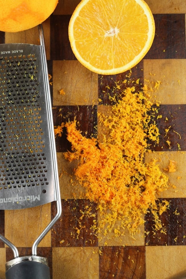 Orange Zest for Orange Cardamom Braid ~ MissintheKitchen.com #orange