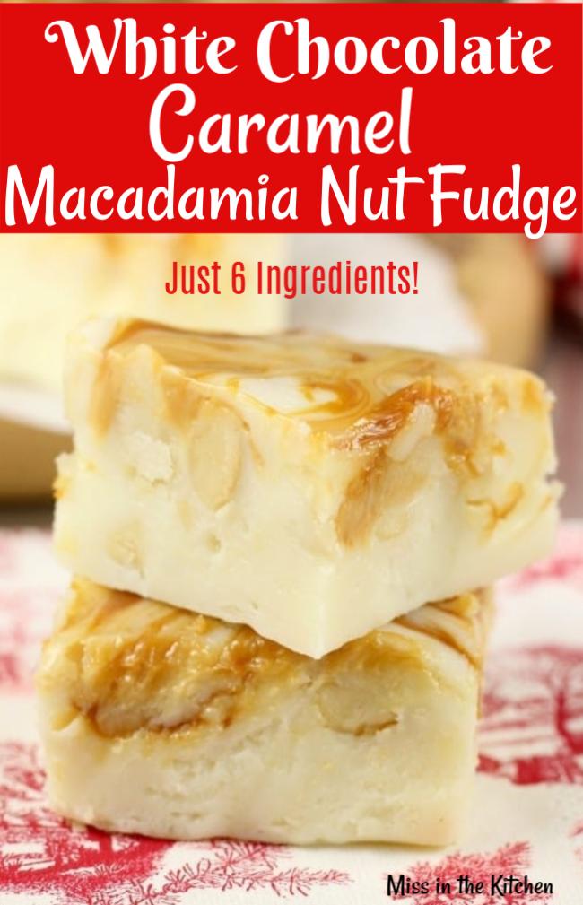 How to make macadamia nut fudge