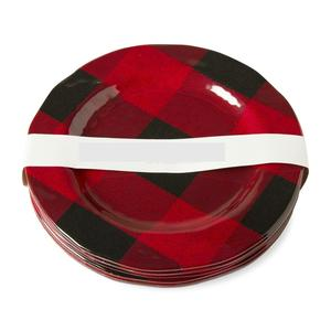 Bufflao Plaid Melamine Plates from RedRiverIron.com