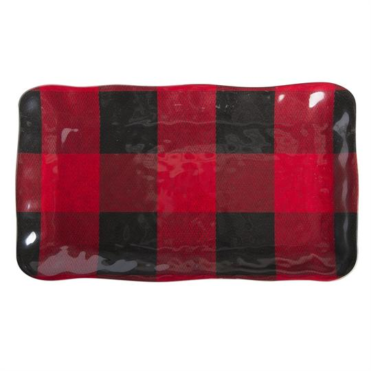 Buffalo Plaid Melamine Platter from RedRiverIron.com