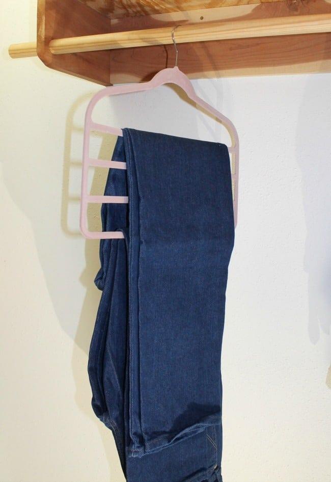 Slimline Multi Pant Hangers ~ Closet Organization