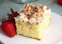 Coconut Cream Cake #EasterSweetsWeek