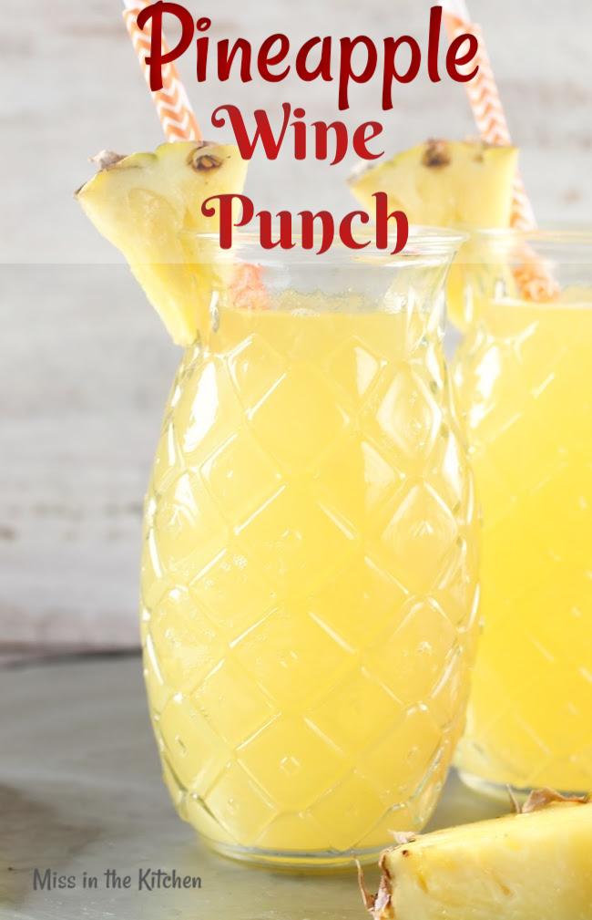 Pineapple Wine Punch