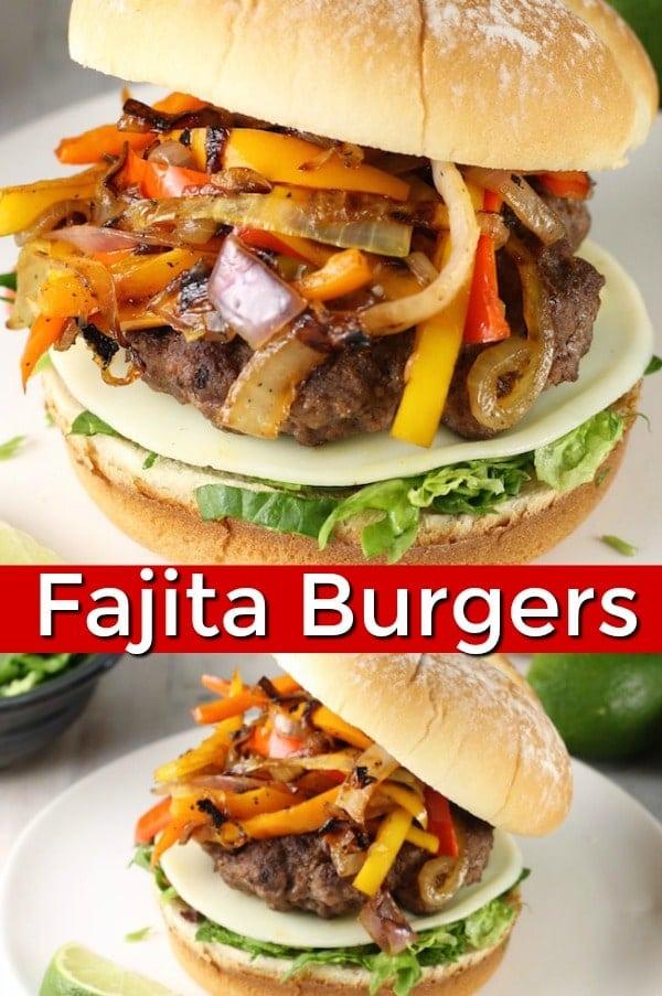 Fajita Burgers