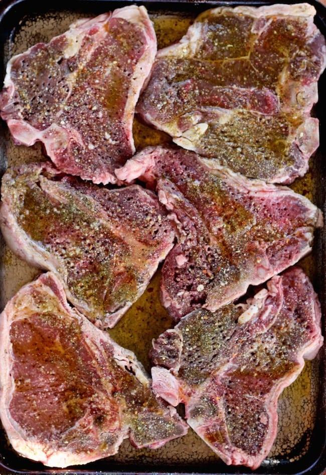 Seasoned steaks for grilling the best steak