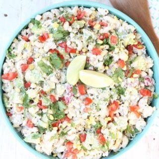 Delicious Mexican Street Corn Pasta Salad Recipe
