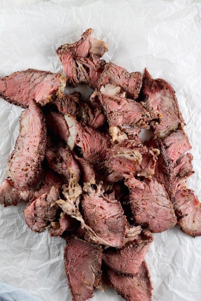 Thin Sliced Smoked Roast Beef