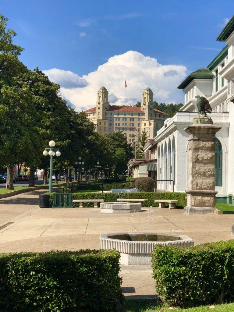 The Arlington Hotel downtown Hot Springs, AR