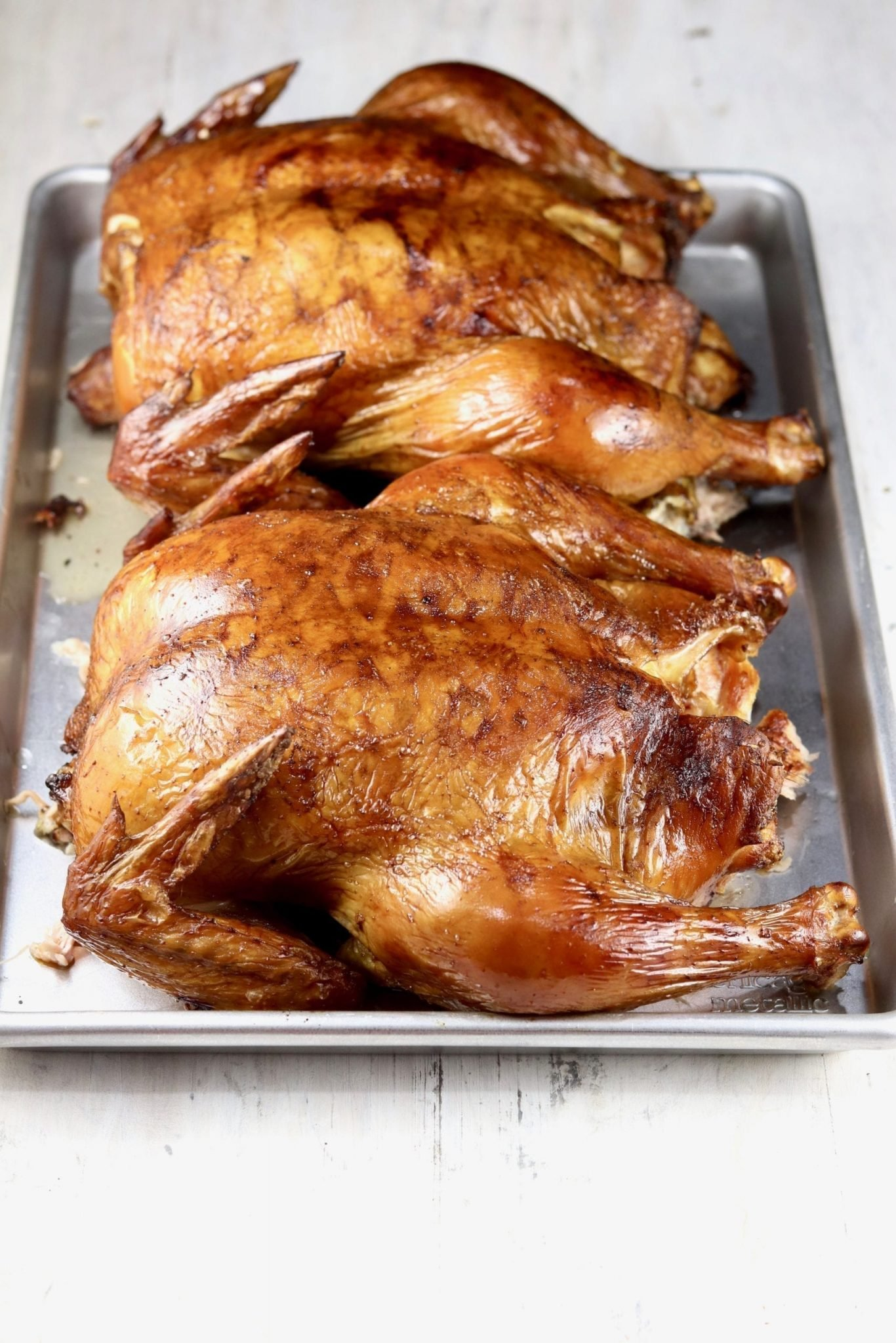How To Brine And Smoke A Whole Chicken Video Miss In The Kitchen