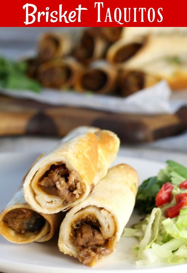 Brisket Taquitos Recipe