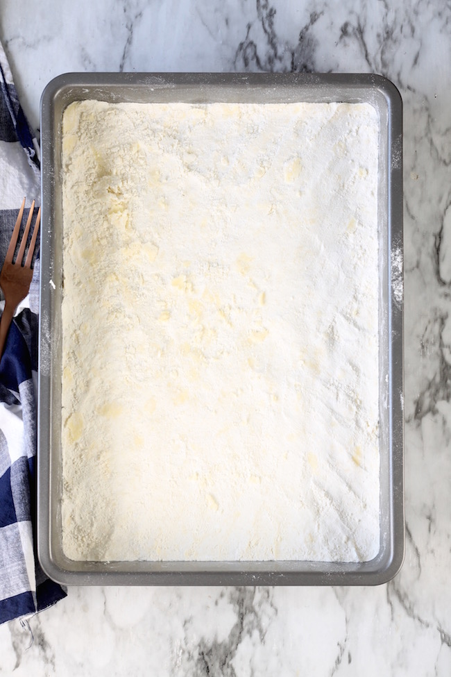 Shortbread Crust for Pumpkin Pie Bars