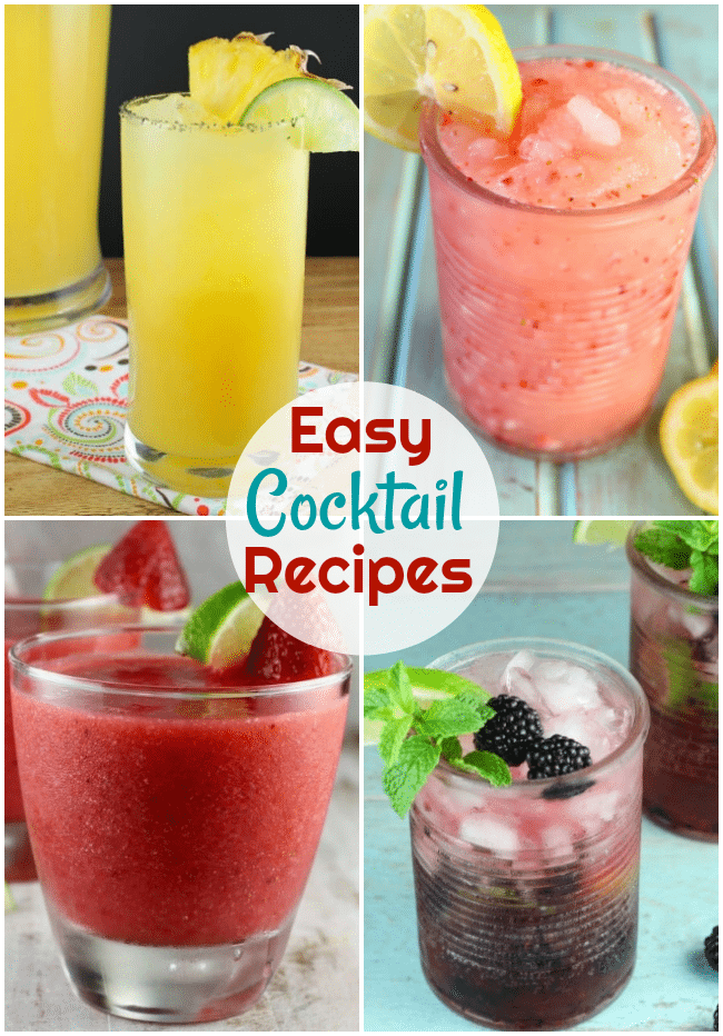 Easy Cocktail Recipes Miss In The Kitchen