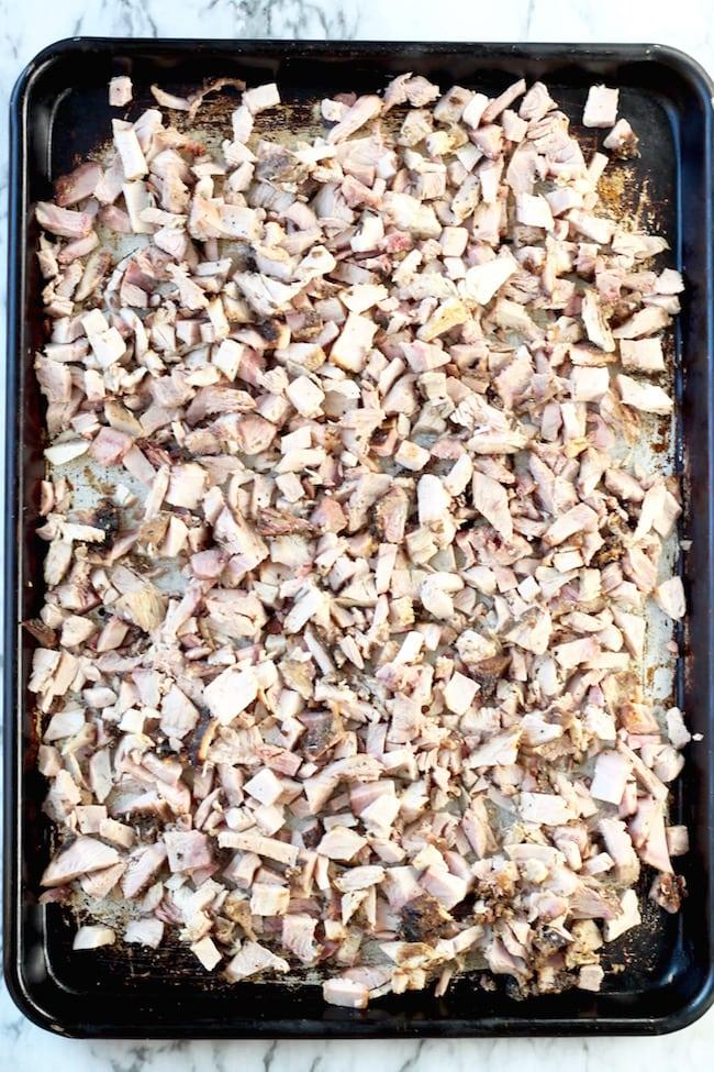 Sheet Pan with Pork for Carnitas