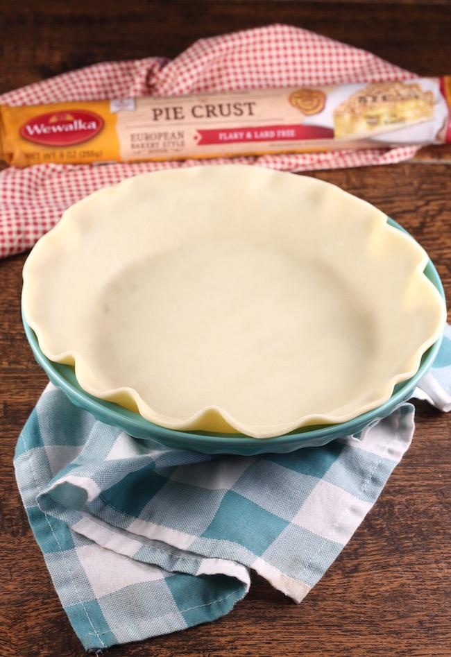 Wewalka Pie Crust for Pumpkin Pecan Pie