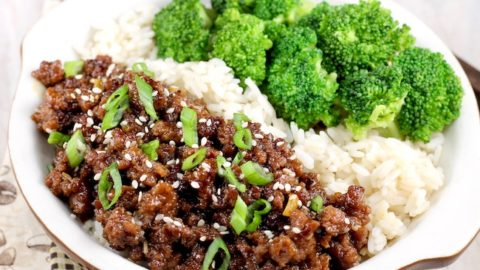 Easy Korean Ground Beef And Broccoli Miss In The Kitchen
