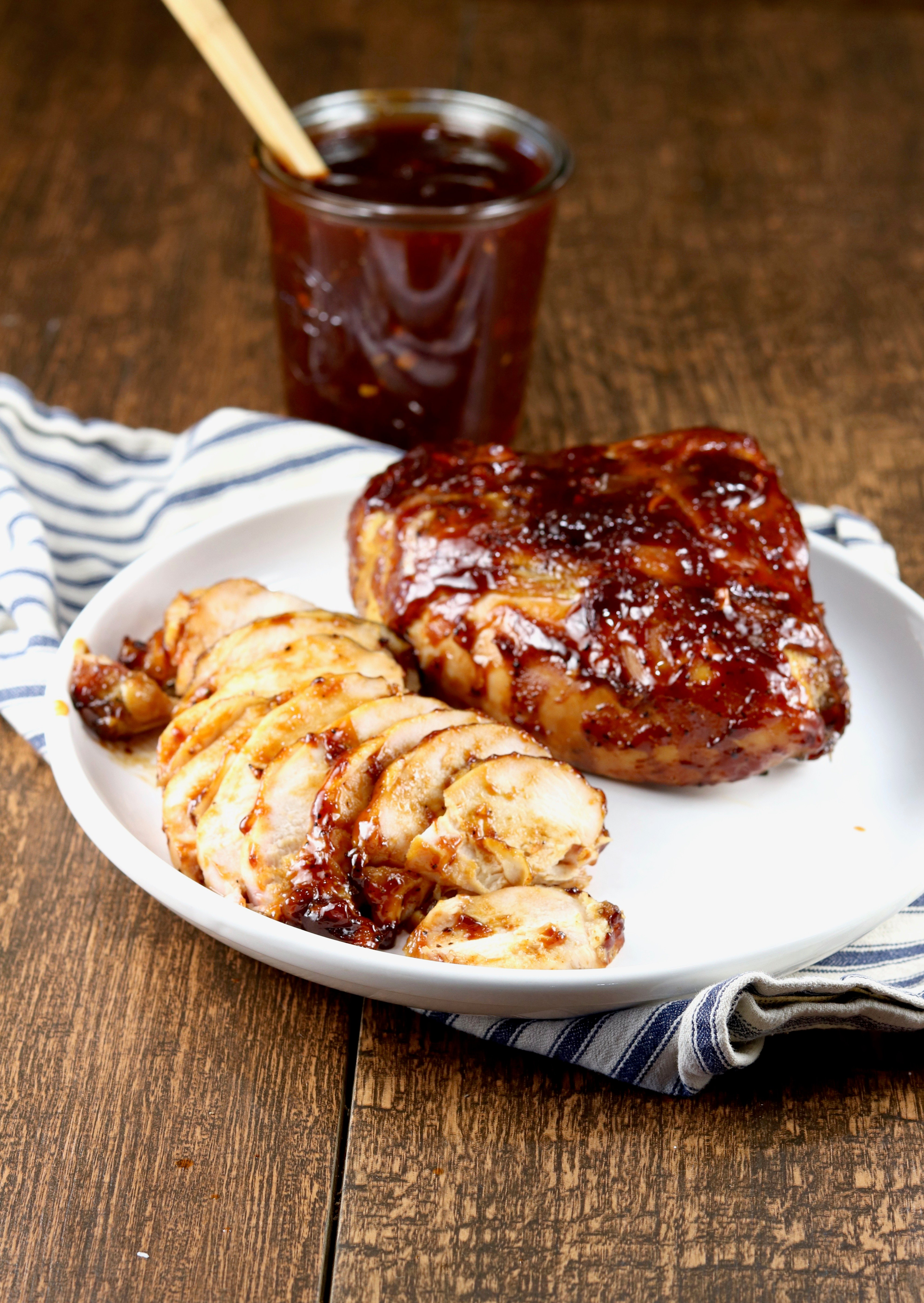 Grilled Bbq Chicken Video Secrets To Keep It Juicy Miss In The Kitchen