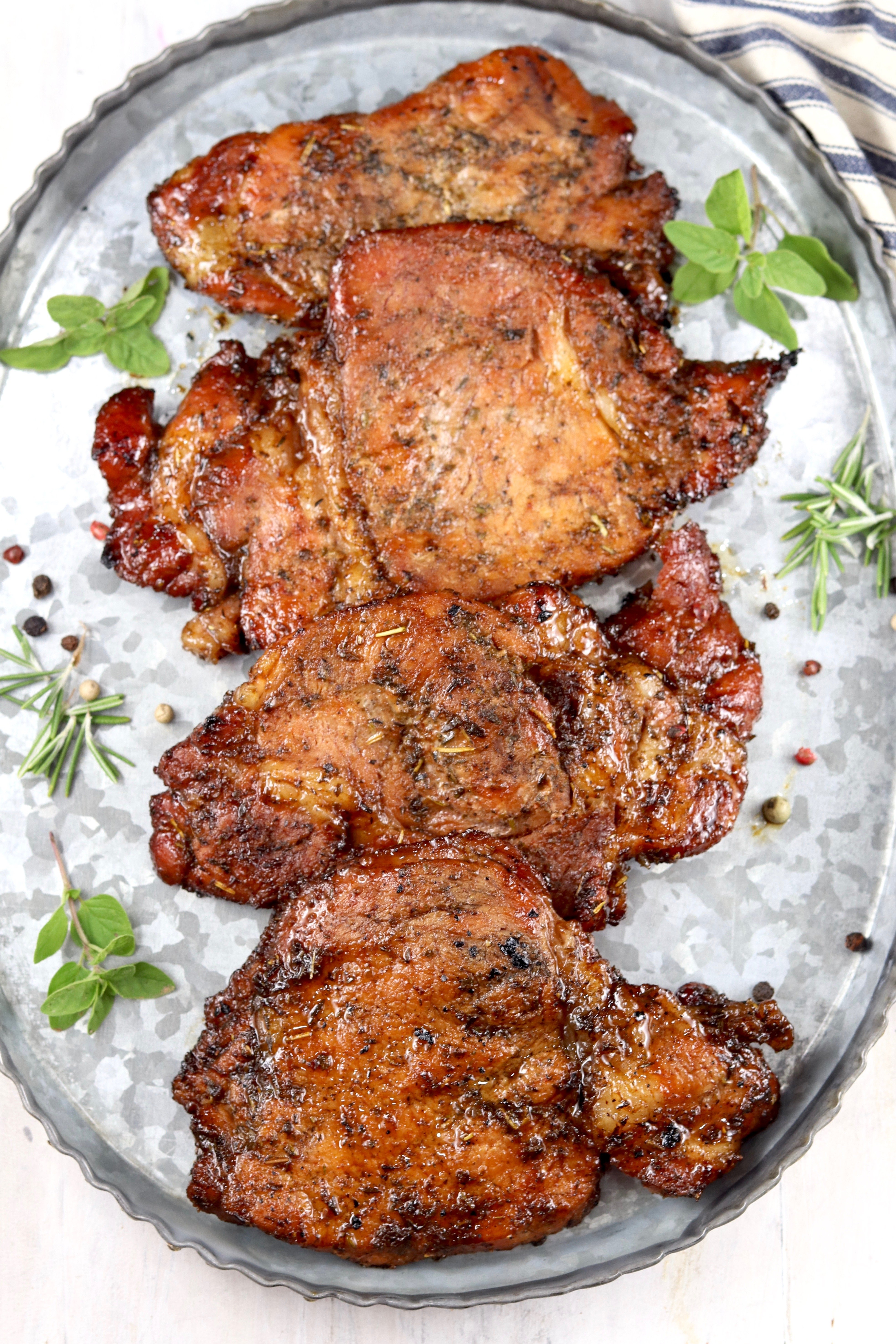 Easy Marinated Pork Chops {Grilled or Baked} - Miss in the