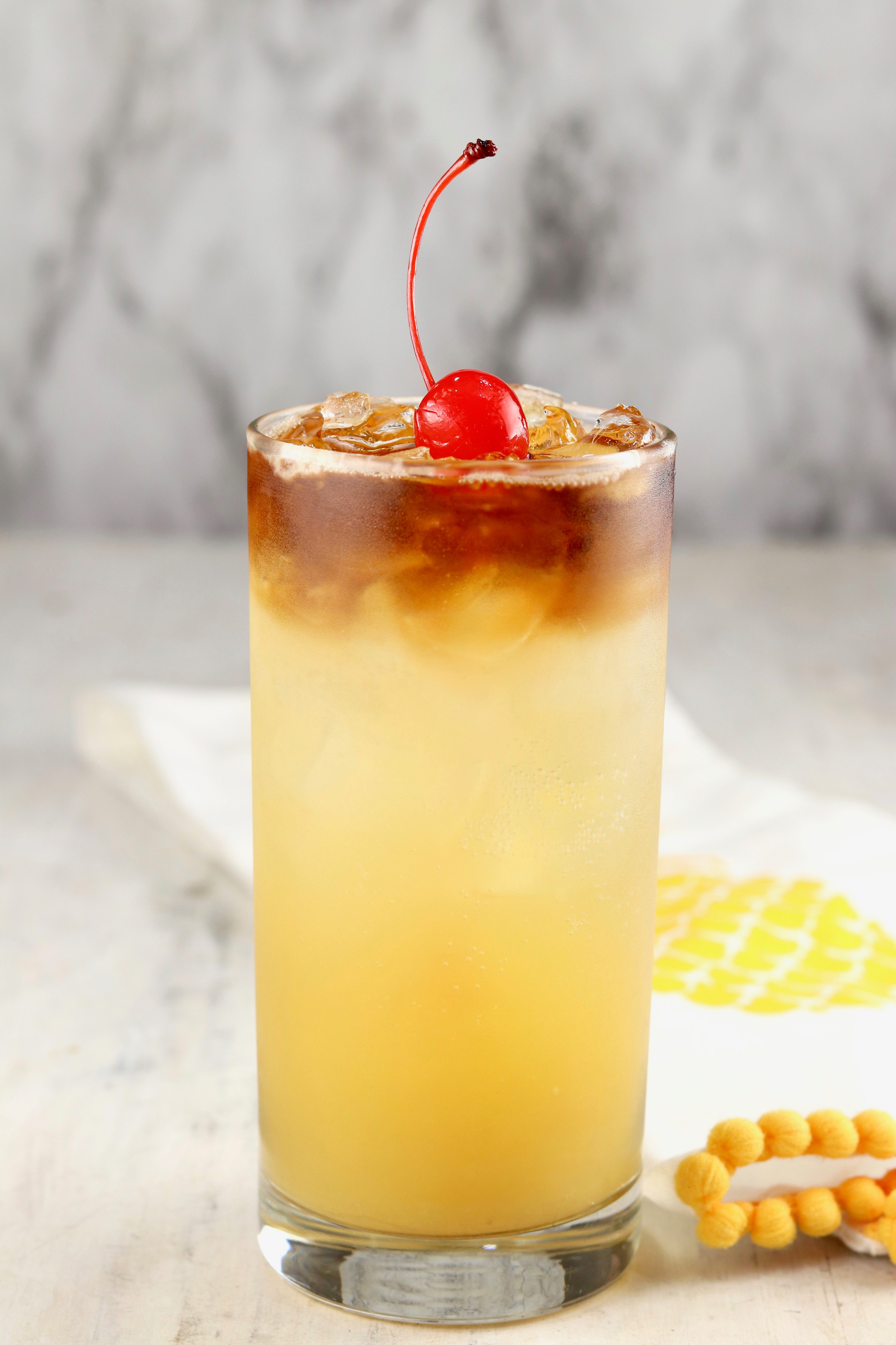 Pineapple Rum Punch Easy Recipe Miss In The Kitchen