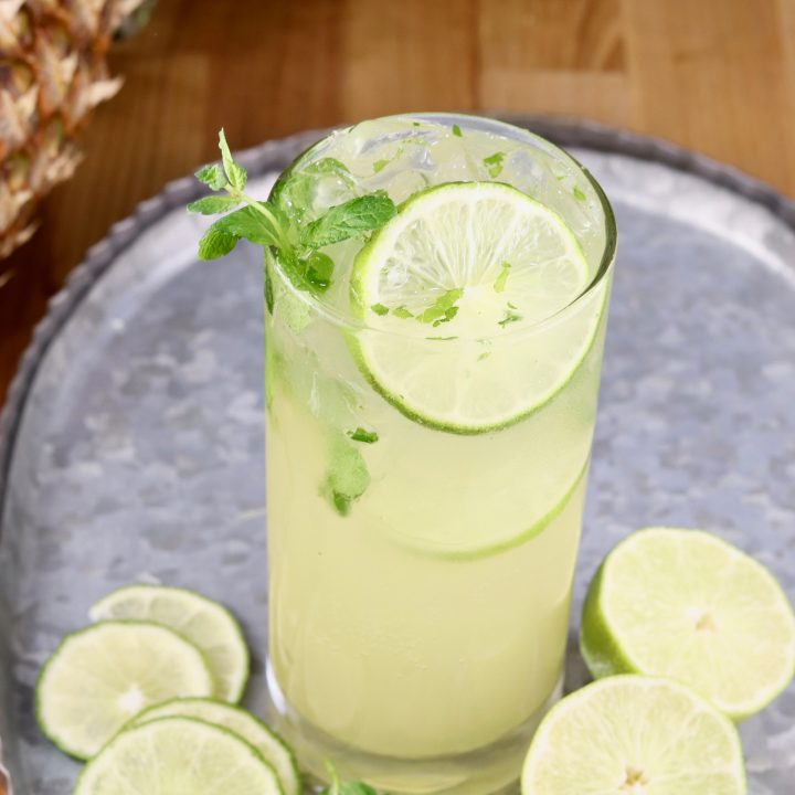 Pineapple Mojitos Rum Cocktail With Video Miss In The Kitchen